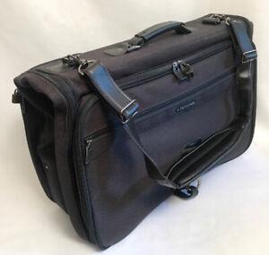 """16"""" Samsonite Silhouette 5 Carry-On Shoulder Strap Suit Garment Bag Suitcase EUC"""