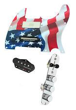Fender Tele Telecaster Loaded Pickguard Duncan Brent Mason Pickups American Flag