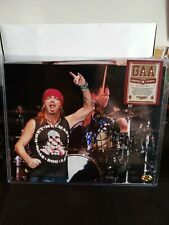 BRETT MICHAELS /COA GAA SIGNED 8X11 PHOTO