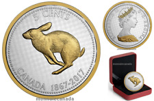 2017 - 5 Cents - 5 oz. Pure Silver Coin - Big Coin Series: RABBIT