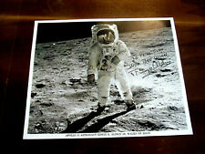 BUZZ ALDRIN APOLLO 11 ASTRONAUT SIGNED AUTO NASA EVA MOON WALK PHOTO JSA LETTER