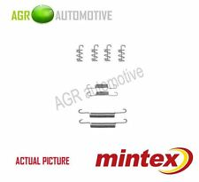 MINTEX REAR PARKING BRAKE SHOES SET FITTING KIT GENUINE OE QUALITY - MBA831
