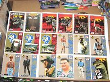 1993 JURASSIC PARK BASE 88 CARD SET! + INSERT STICKER SET! JURASSIC WORLD!!!