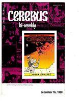 3 Cerebus Bi-Weekly Aardvark-Vanaheim Comic Books # 2 11 16 Dave Sim Rogers WM5
