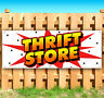 """THRIFT STORE Advertising Vinyl Banner Flag Sign USA 15"""" 18"""" 20"""" 30"""" 48"""" 52"""""""