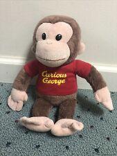 "Curious George Stuffed Animal 12"""