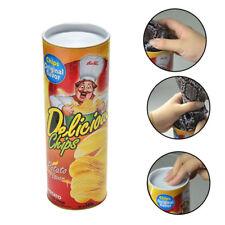 2017 Potato Chip Can Jump Fake Snake Joke Prank Halloween Fool's Day Gifts Toy