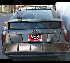 New Vortex Style Roof Fins For 2016+ Toyota Prius Black Unpainted