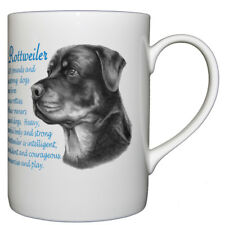 Rottweiler Dog Coffee//Tea Mug Christmas Stocking Filler Gift Idea AD-RW3MG