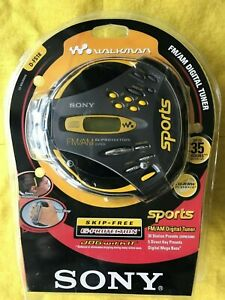 Sony Sports Walkman D-FS18 CD Player with Digital FM/AM Radio Tuner (NEW)
