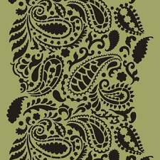 Paisley Craft Stencil - Size MEDIUM - By Cutting Edge Stencils