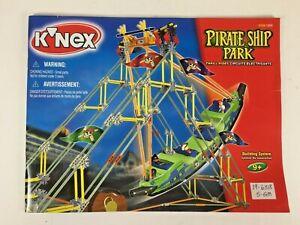 K'NEX Pirate Ship Park INSTRUCTION BOOKLET ONLY