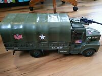 "Rare 2002 G.I. Joe Troop Transporter Army Truck Toy Large 23"" Long"