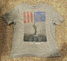 *VERY NICE* Gap Kids Boys 1969 U.S. TOUR Short-Sleeve T-Shirt--MEDIUM--Americana