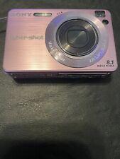 Sony Cyber-shot DSC-W130 8.1MP Digital Camera~~Pink~~ WORKING