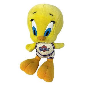 Space Jam Vintage 90s Tweety Bird Tune Squad Plush Looney Tunes Warner Bros