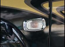 Chrome Door Signal Light Cover Frame for Toyota Land Cruiser Prado Fj120 2003-09