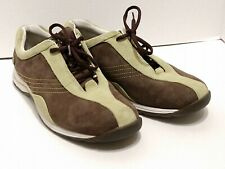 Timberland Outdoor Performance Shoes Men's Size 9.5M Geniune Leather Brown Green
