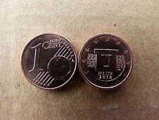 Pièce monnaie MALTE MALTA 1 cent 2016 NEUVES NEW UNC