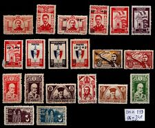 INDOCHINE : TIMBRES 274 à 293, Neufs * = Cote 24 € / Lot COLONIES