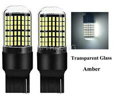 Ampoules T20 LED W21W 144 SMD Canbus Blanc Xenon feux de jour ou Freins 7440