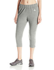 ADIDAS PERFORMANCE WOMENS BRANDED 7/8 PANTS GREY SIZE M NEW