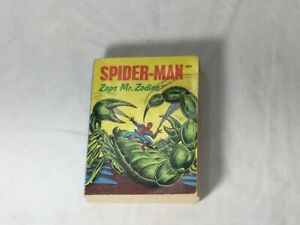 1976 Marvel Comics Spiderman Zaps Mr Zodiac Big Little Books Series FREESHIP
