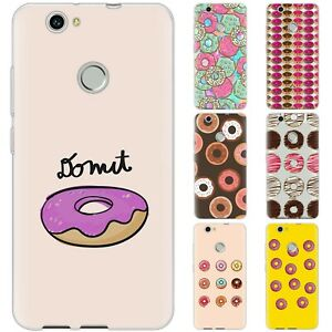 Dessana Donuts TPU Silicone Protective Cover Phone Case Cover For Huawei