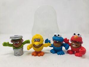 Playskool Friends Mr Potato Head Sesame Street Mini Mix Match Set Elmo Big Bird