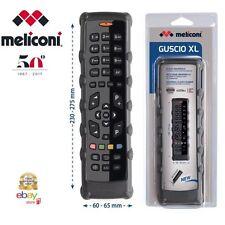 Meliconi Guscio Salva telecomando Universale modello XL , Gomma Protettiva NERO