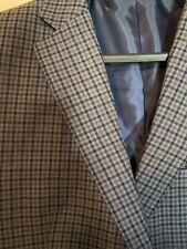 46 Long Plaid Sportcoat
