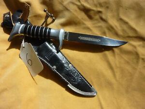 Vtg Mnt Edge Brand 481 Super Hollow Ground Solingen Germany  Finn Hunting Knife