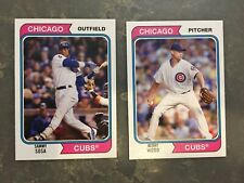 2020 Topps Archives Sammy Sosa and Kerry Wood 2-card lot