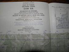 1967 NAUTICAL WAR CHART,Dam Ha,CONFIDENTIAL