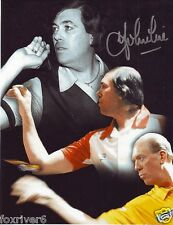 JOHN LOWE Signed Photograph - former 3x World Champion Darts Player - Preprint