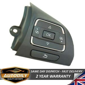 MFSW Multifunction Steering Wheel Control Button 5C0959538B Right Hand Side