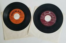 BUDDY HOLLY Peggy Sue & THE CRICKETS Oh, Boy! Rare 45s