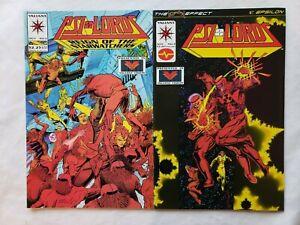 Psi-Lords #2 #3 Valiant Comics Tony Bedard Mike Leeke Dick Giordano Chaos Effect