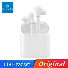 Original Haylou T19 TWS + Bluetooth Headphones Wireless Charging Earphones