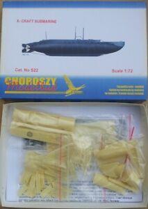 S22 - X-Craft Submarine - Choroszy Modelbud-1/72