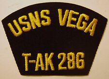 USN CAP/JACKET PATCH - USNS VEGA (T-AK 286):E1