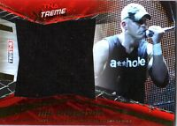 TNA Mr. Anderson 2010 Xtreme GOLD Event Worn Shirt Memorabilia Card SN 27 of 50