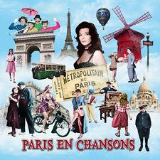 CD Paris en chansons - 50 Titres - Coffret 2 CD