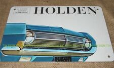 HOLDEN HD vintage style TIN SIGN! retro Australian car brochure picture advert