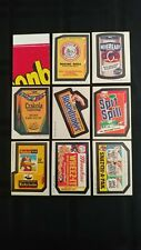 1973 Wacky Packages 3rd Series Complete Set Of 30 Stickers