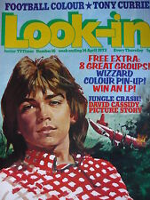 LOOK-IN MAGAZINE 14TH APRIL 1973 - DAVID CASSIDY