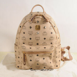 MCM Stark Small Backpack Authentic + Dust Bag