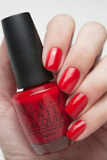 Opi Gwen What'S Your Point-Settia? Bright Red Creme Nail Polish Lacquer Hrf09