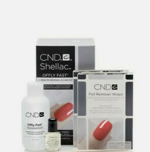 CND - Shellac Offly Fast 8 Minute Removal & Care Kit