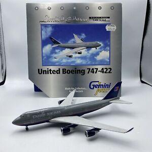 1/400 Gemini Jets Boeing 747-422 United Airlines   # GJUAL003